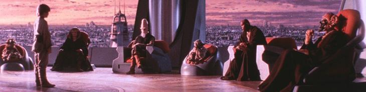 """Звездные войны """"Скрытая угроза"""" 1 эпизод: кадр из фильма"""
