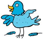 Твиттер птица