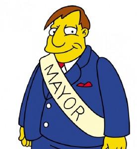 Мэр (mayor) на Foursquare