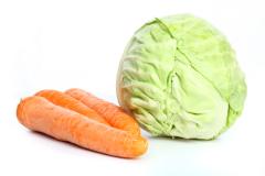 Капуста и морковь