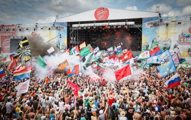 Фестиваль Нашествие-2012 в Тверской области