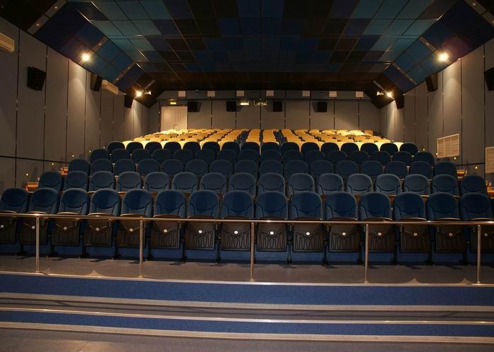 Зал кинотеатра Киномир в Брянске