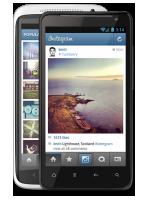 Instagram на телефоне Android