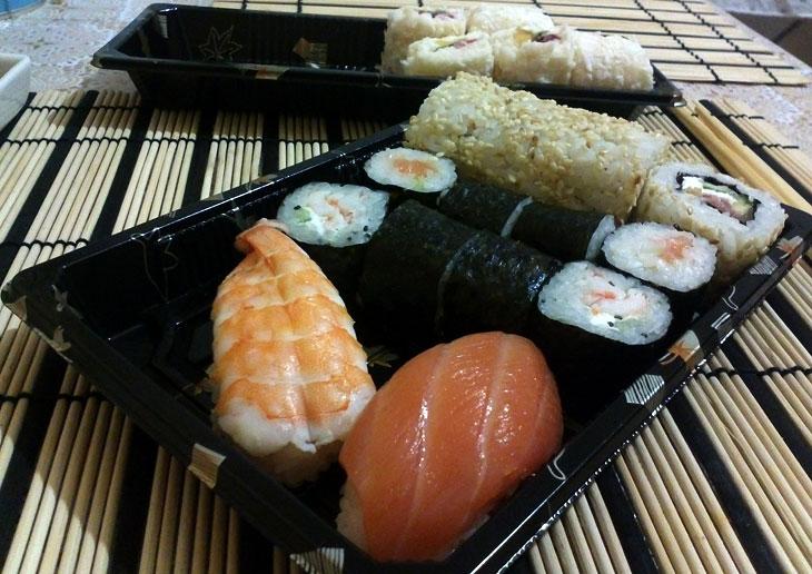 Наш заказ в Суши?Суши!
