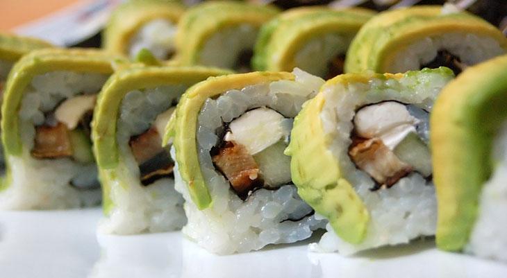 Красивые суши