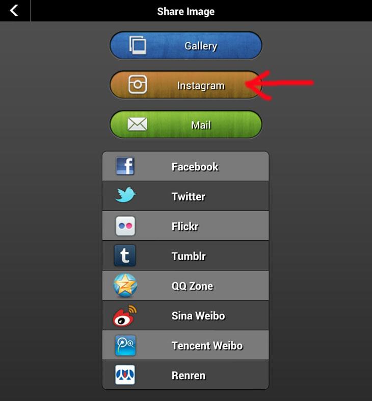 Как загрузить в Инстаграм прямоугольно фото с помощью InstaPicFrame