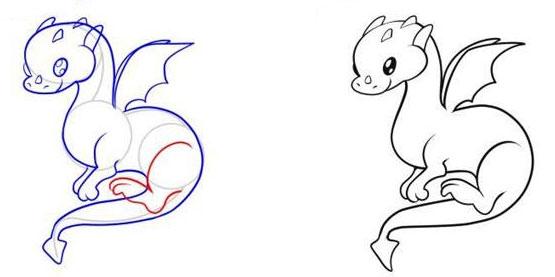 Показаны картинки по запросу Как Рисовать Дракона Легко.