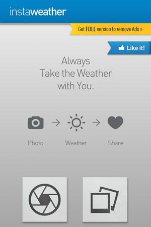 Как добавить погоду в Инстаграм