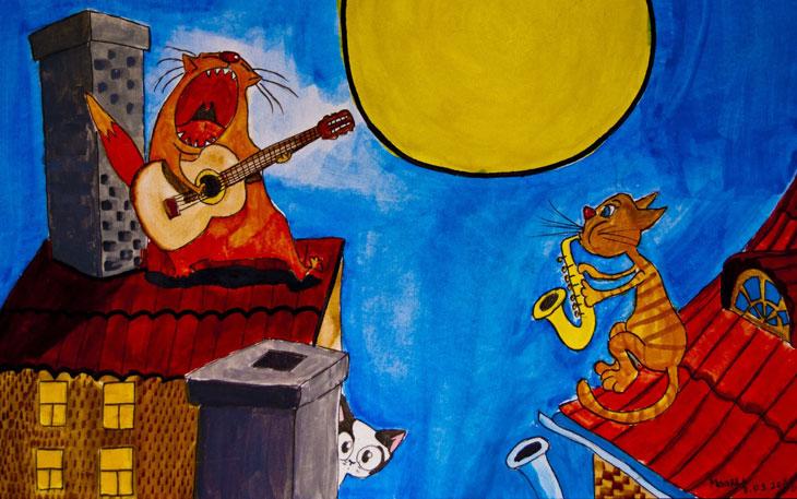 детские песни в рок обработке мамонтенок