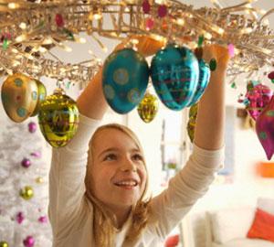 Как украсить помещение на Новый Год 2014