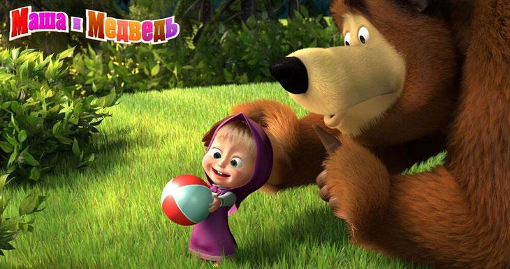 """Песни из мультфильма """"Маша и Медведь"""" слушать онлайн"""