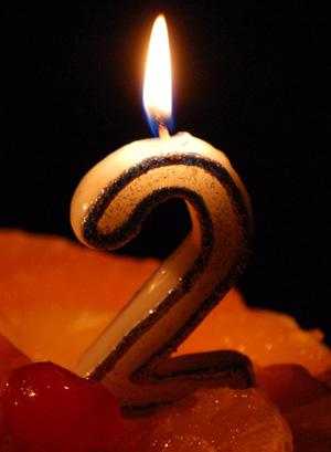 Блогу о жизни 2 года!