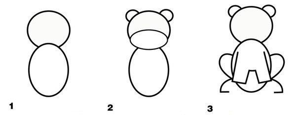 Как нарисовать тигренка поэтапно карандашом