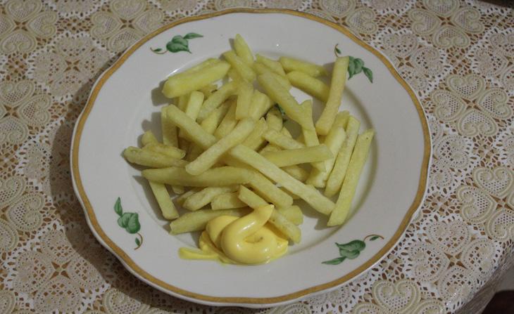 Картошка фри в мультиварке Redmond