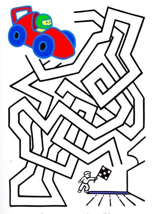 Лабиринты для детей - игра