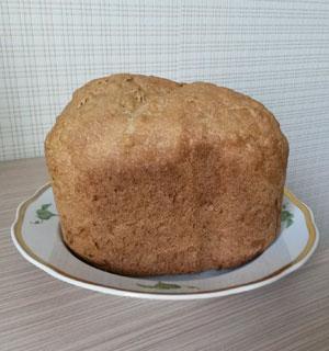 Черный хлеб с семечками в хлебопечке Panasonic SD-2501WTS