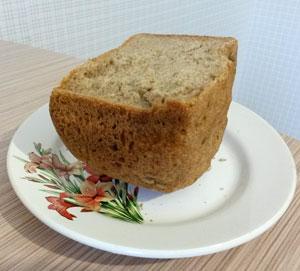 Рецепт обычного черного хлеба в хлебопечке