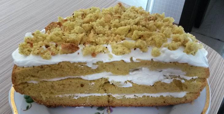 Бисквит со взбитыми сливками в мультиварке Редмонд: рецепт с фотографиями